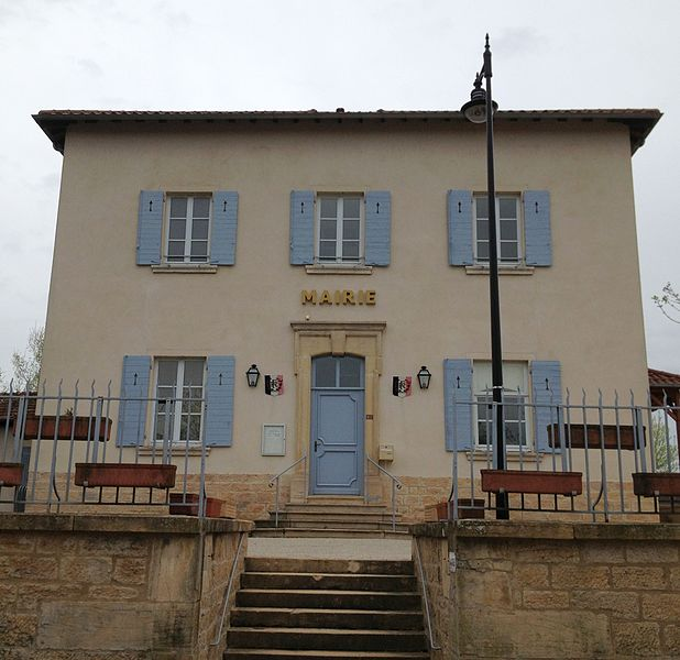 Town hall of Francheleins.