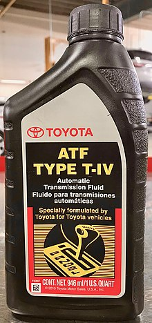 Toyota Automatic Transmission Fluid - Wikipedia