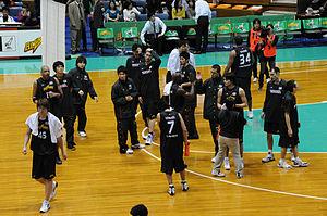 Alvark Tokyo - Toyota Alvark team in 2009