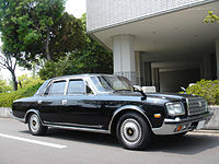 Toyota Century is the official state car of the emperor Akihito.