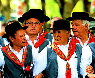 Music of Portugal - A group of Cante Alentejano.