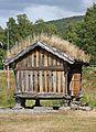 Traditionelle norwegische Scheune für Produkte Lagerung...IMG 7415WI.jpg
