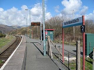 Morfa Mawddach railway station
