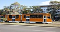 Tram in Sofia in front of Central Railway Station 2012 PD 100.jpg