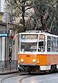 Tramway in Sofia in Alabin Street 2012 PD 034.jpg