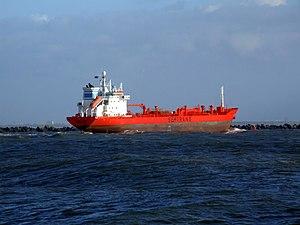 Trans Fjord p3 approaching Port of Rotterdam, Holland 12-Dec-2006.jpg
