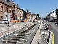 Travaux de la branche vers Vieux-Condé de la ligne B du tramway de Valenciennes en mai 2012 (124).JPG