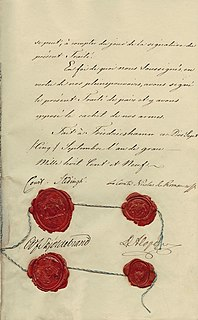 September 1809 peace treaty between Russia and Sweden