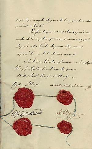 Treaty of Fredrikshamn - final page