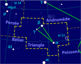 image illustrative de l'article Triangle (constellation)