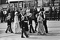Troonswisseling 30 april 1980. Aankomst van de Koninklijke familie in de Nieuwe , Bestanddeelnr 930-8029.jpg