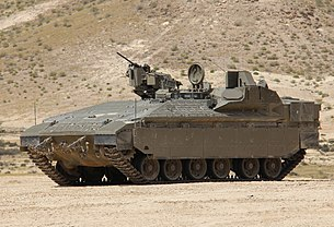 Namer with TROPHY active protection system