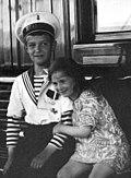 Tsarevich Alexei of Russia and Princess Ileana of Romania.jpg