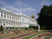 Catherine Palace is one of three Summer Palaces