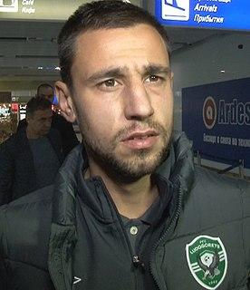 Tsvetomir Panov Bulgarian footballer