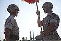 U.S. Marine Corps Sgt. Maj. Thomas M. Burkhardt, right, battalion sergeant major, 2nd Tank Battalion (2nd Tank Bn 140619-M-CH063-054.jpg