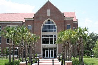 Bob Graham Center for Public Service - Image: UF Pugh Hall
