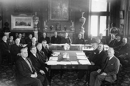 University council's first meeting in 1949 UNSW first council meeting.jpg