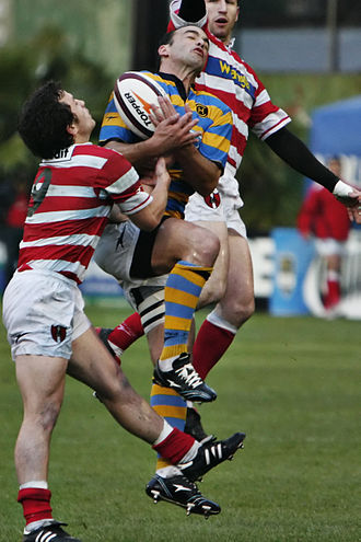 Rugby union - Argentine teams Alumni and Hindú playing the Torneo de la URBA final match in 2007.