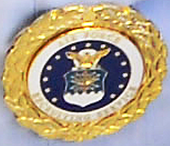 U.S. Air Force Gold Recruiter Badge