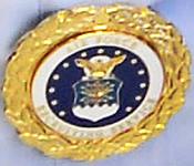 USAF Gold Recruiter Badge