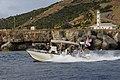USCG patrol boat passes a Guantanamo light-house, 2011-01-14 -c.jpg