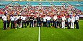 USMNT posing with servicemembers 2014 Jacksonville.jpg