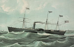 Collins Line - Image: USM Steamship Atlantic (1849)