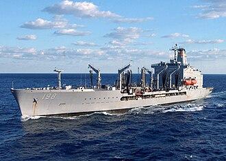 Henry J. Kaiser-class oiler - Image: USNS Big Horn T AO 198