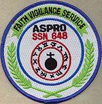 USS Aspro Unit Patch