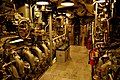 USS Bowfin - Engine Room (6160367883).jpg