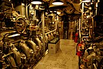 USS Bowfin - Engine Room (6160367883).jpg