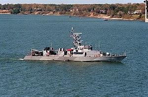 USS Firebolt - Image: USS Firebolt (PC 10) 2