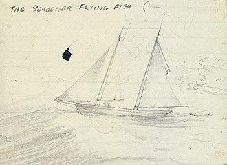USS Flying Fish (1838) - Image: USS Flying Fish (1838)
