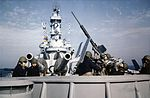 USS Iowa (BB-61) Oerlikon 20mm AA gun mount.jpg