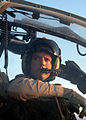 US Navy 030602-N-2819P-020 Capt. Michael M. Richman, a pilot assigned to Marine Attack Light Attack Helicopter Squadron Two Sixty Nine (HMA-L-269) performs pre-start checks on his AH-1W Cobra.jpg