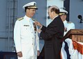 US Navy 031003-N-0987M-501 Adm. Robert J. Natter, Commander, U.S. Atlantic Fleet receives the Distinguished Service Medal.jpg