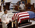 US Navy 050723-N-5390M-005 Adm. Mike Mullen, Chief of Naval Operations (CNO), pays tribute to retired Vice Adm. James B. Stockdale.jpg