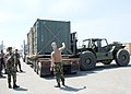 US Navy 060831-N-3560G-040 Members of Naval Mobile Construction Battalion Four (NMCB-4) prepare to transport Tricon Containers.jpg