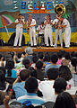 US Navy 081119-N-5476H-007 Sailors from the U.S. Pacific Fleet Dixieland Band perform for students and faculty during Kalihi Elementary School's 4th Annual Red Ribbon Week.jpg