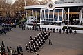 US Navy 090120-F-2408G-828 The Ceremonial Honor Guard marches past the presidential reviewing stand during the 2009 Presidential Inaugural Parade.jpg