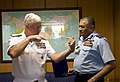 US Navy 090514-N-8623G-054 Adm. Timothy J. Keating, commander of U.S. Pacific Command and Air Marshal Pradeep Vasant, Vice Chief of Air Staff meet during an office call.jpg