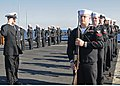 US Navy 100210-N-1082Z-085 Sailors stand in formation during a burial at sea aboard USS Ashland (LSD 48).jpg