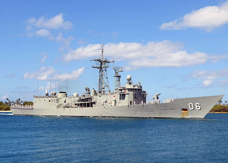 HMAS Newcastle in 2010