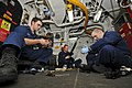 US Navy 110815-N-YM590-041 Sailors clean weapons on the USS Anzio.jpg