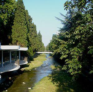 Uchan-su (river) - Uchan-su river in Yalta, Crimea