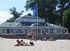 Strandhalle am Stadtstrand von Ueckermünde