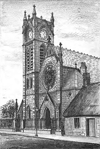 Stonehouse, South Lanarkshire - Image: United.Presbyterian. Church.Stonehouse