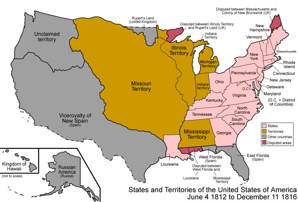 Location of Missouri