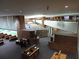 Universidad Iberoamericana Ciudad de México - Image: Universidad Iberoamericana, Sede Mexico Santa Fe, Biblioteca Francisco Xavier Clavigero